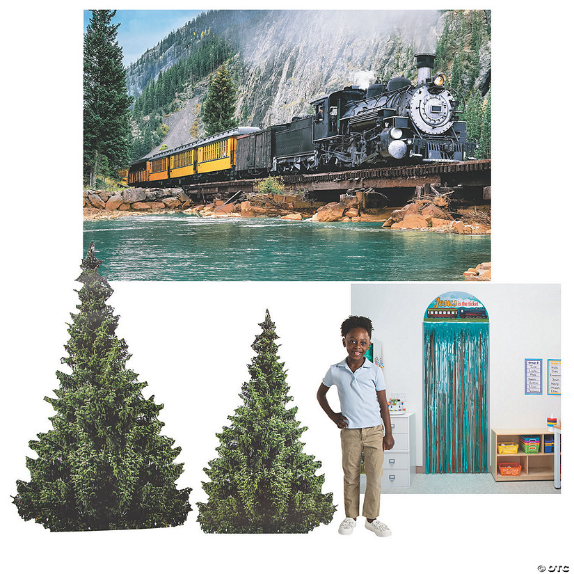 Railroad VBS Small Scene Setter Kit Image Thumbnail