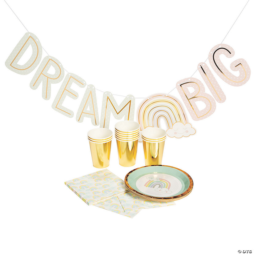 Rainbow Dream Tableware Kit for 12  Image Thumbnail