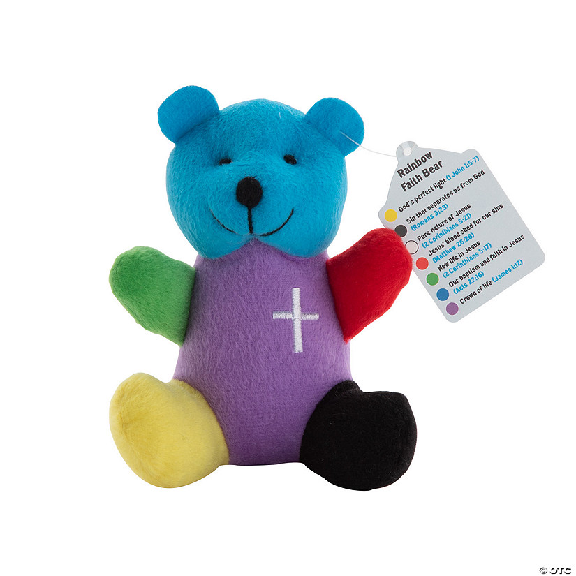 Rainbow Faith Stuffed Bears Image Thumbnail