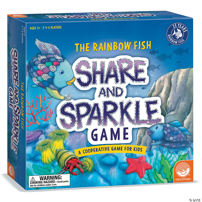 Rainbow Fish Share and Sparkle Game