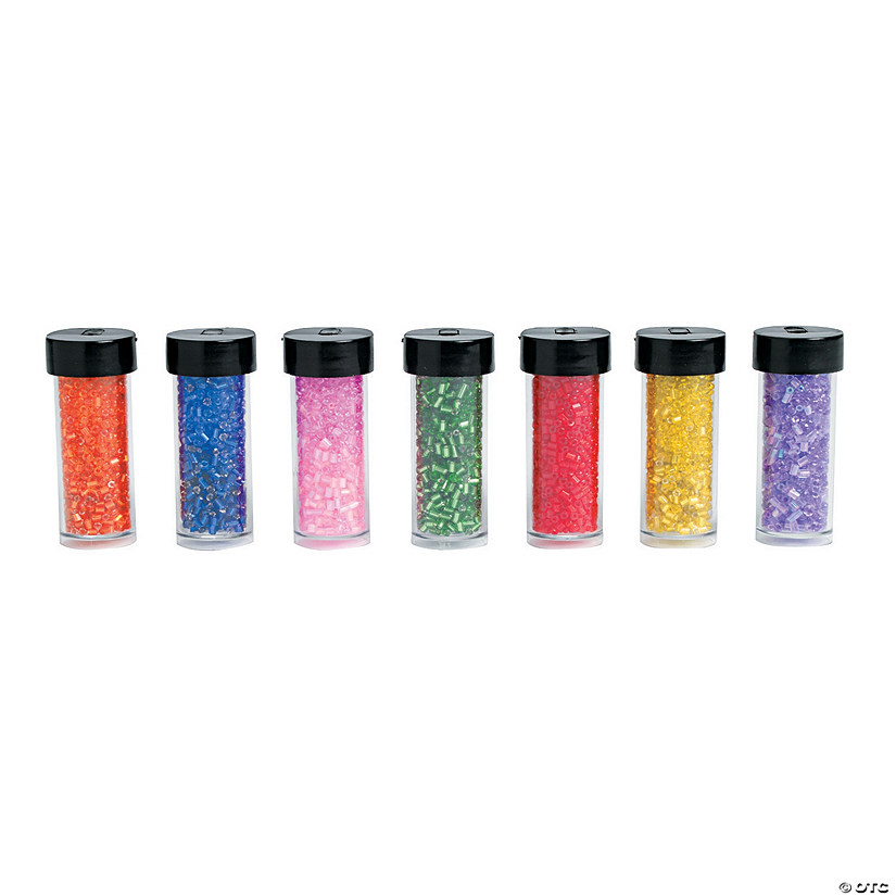 Rainbow Pack Seed Beads - 1mm - 2mm.