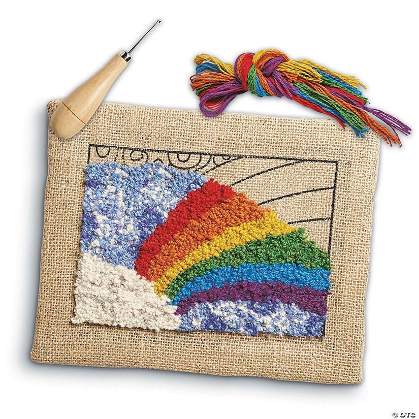 Rainbow Rug Hooking Kit Audio Thumbnail