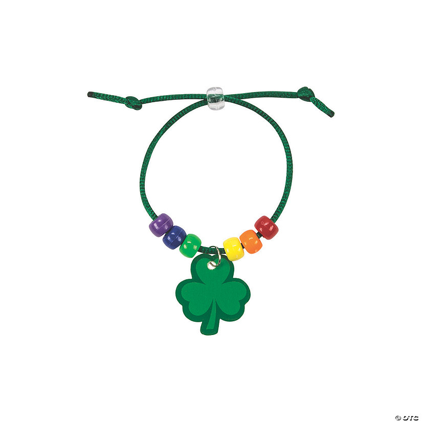 Rainbow Shamrock Charm Bracelet Craft Kit Audio Thumbnail
