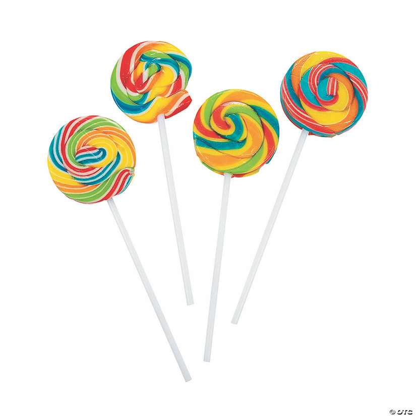Rainbow Swirl Lollipops Audio Thumbnail