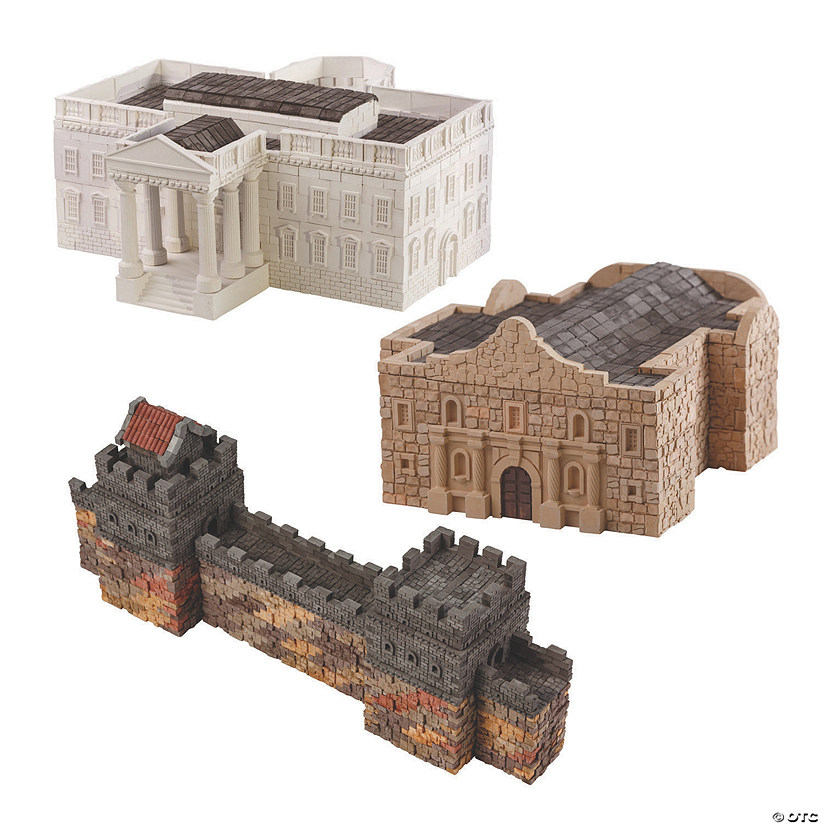 Re-Usable Brick Construction Set of 3 Image Thumbnail