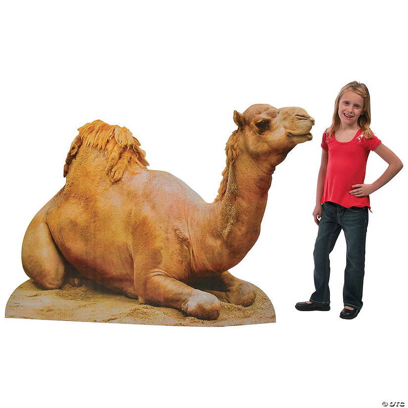 Realistic Camel Cardboard Stand-Up Audio Thumbnail