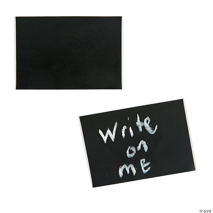 Rectangular Chalkboard Stickers