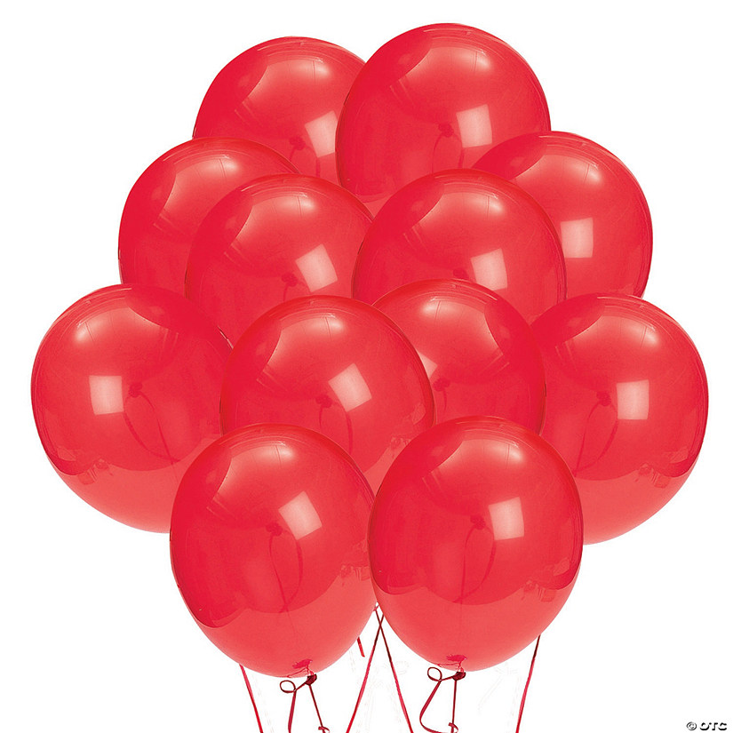 "Red 9"" Latex Balloons Audio Thumbnail"