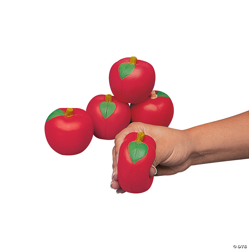 Red Apple Stress Toys Audio Thumbnail