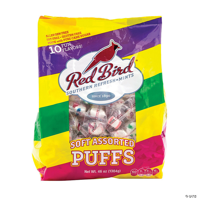Red Bird<sup>&#174;</sup> Soft Puff Candies Image Thumbnail