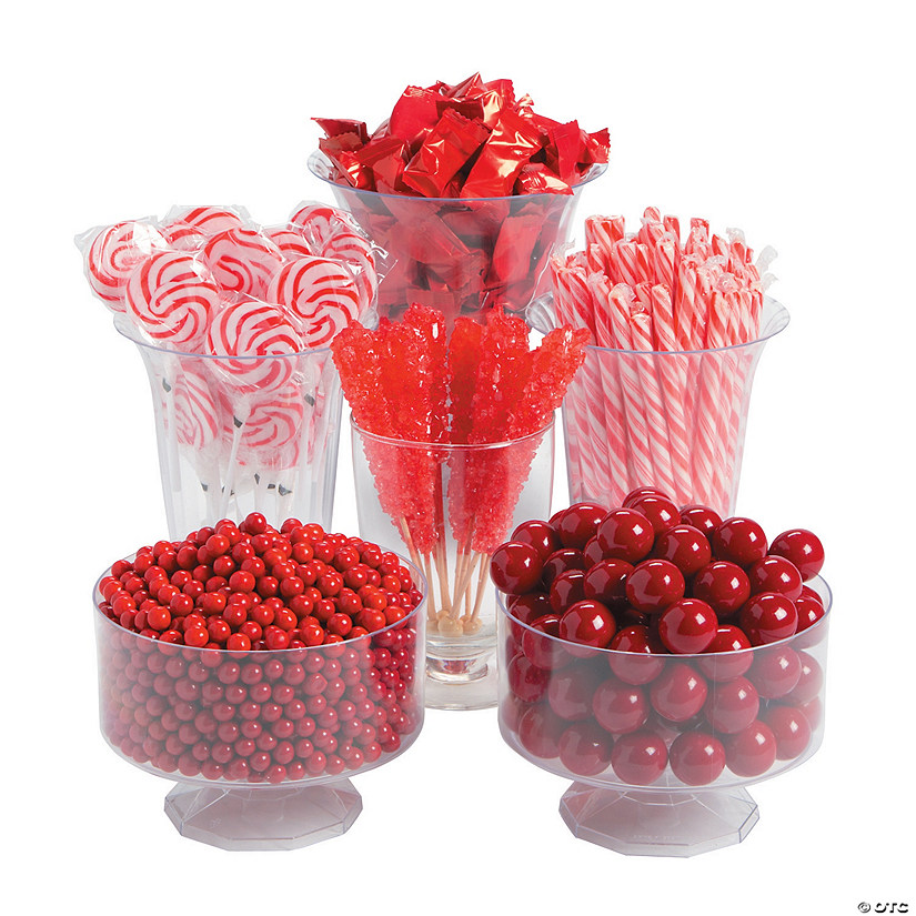Red Candy Buffet Assortment Image Thumbnail