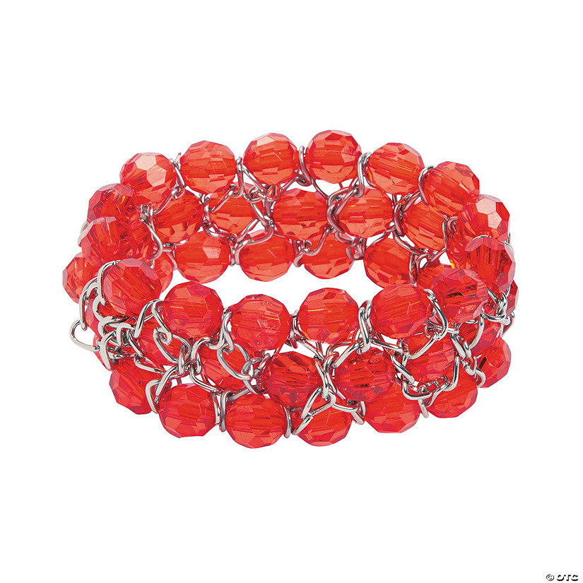 Red Chain Bracelet Craft Kit
