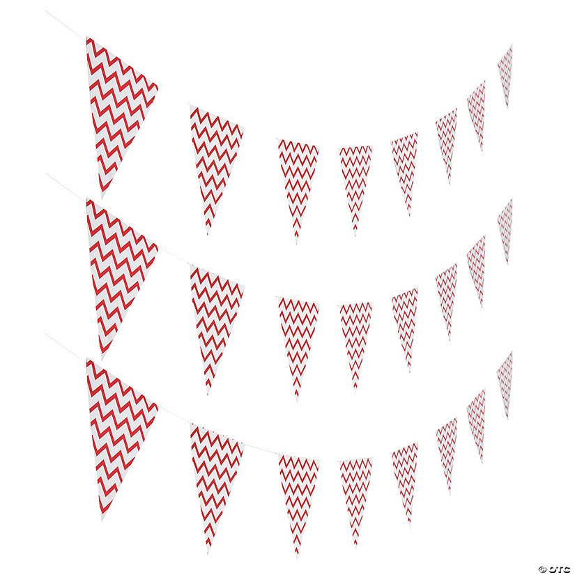 Red Chevron Pennant Banner Audio Thumbnail
