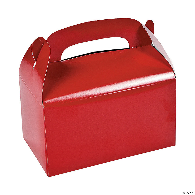 Red Favor Boxes Image Thumbnail