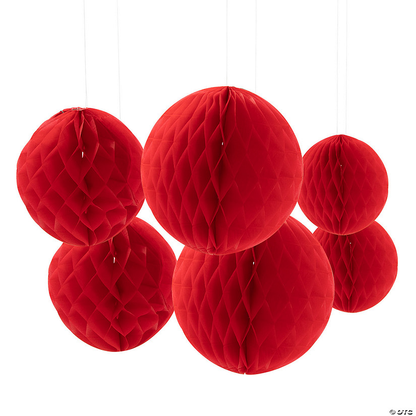 Red Hanging Honeycomb Decorations Audio Thumbnail