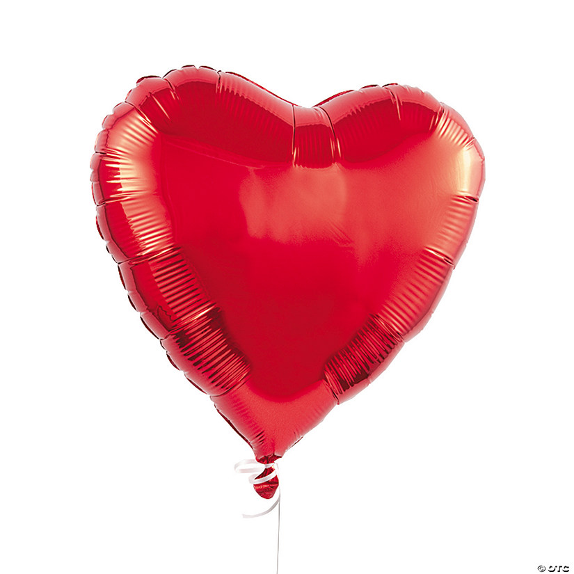 "Red Heart 18"" Mylar Balloons Audio Thumbnail"