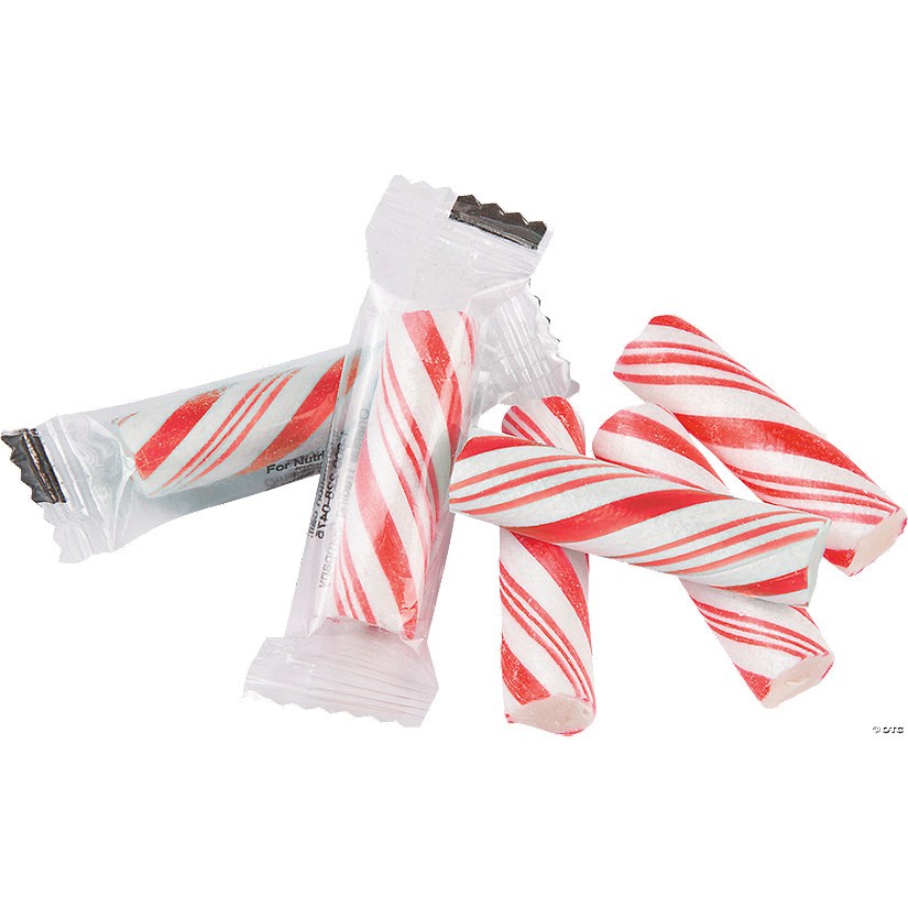 Red Mini Hard Candy Sticks