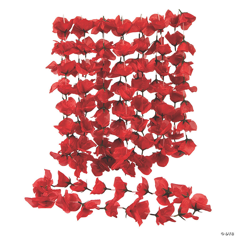 Red Rose Leis Image Thumbnail