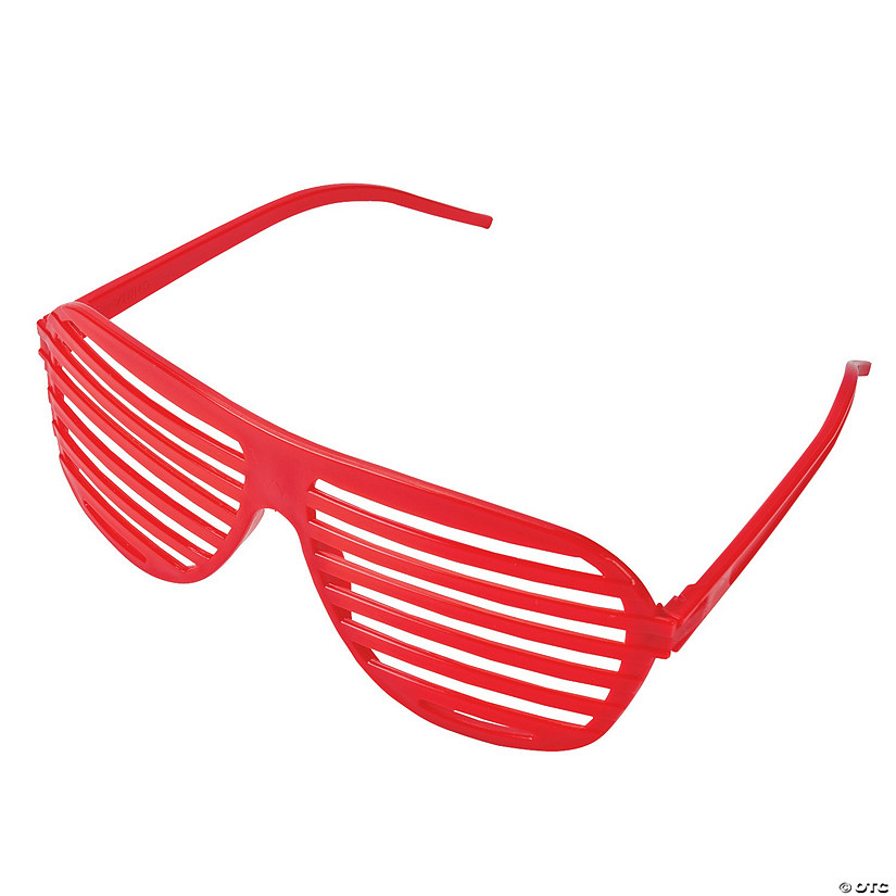 Red Shutter Glasses - 12 Pc. Image Thumbnail