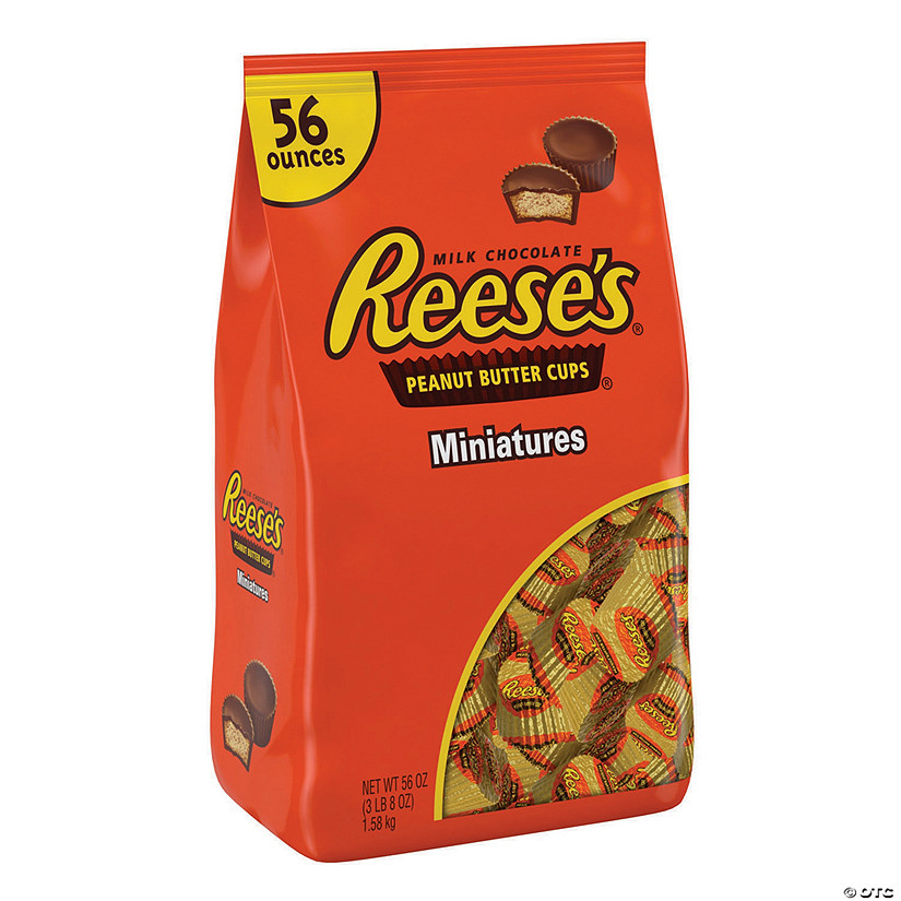 REESE'S Peanut Butter Cups Miniatures - 56oz bag Image Thumbnail