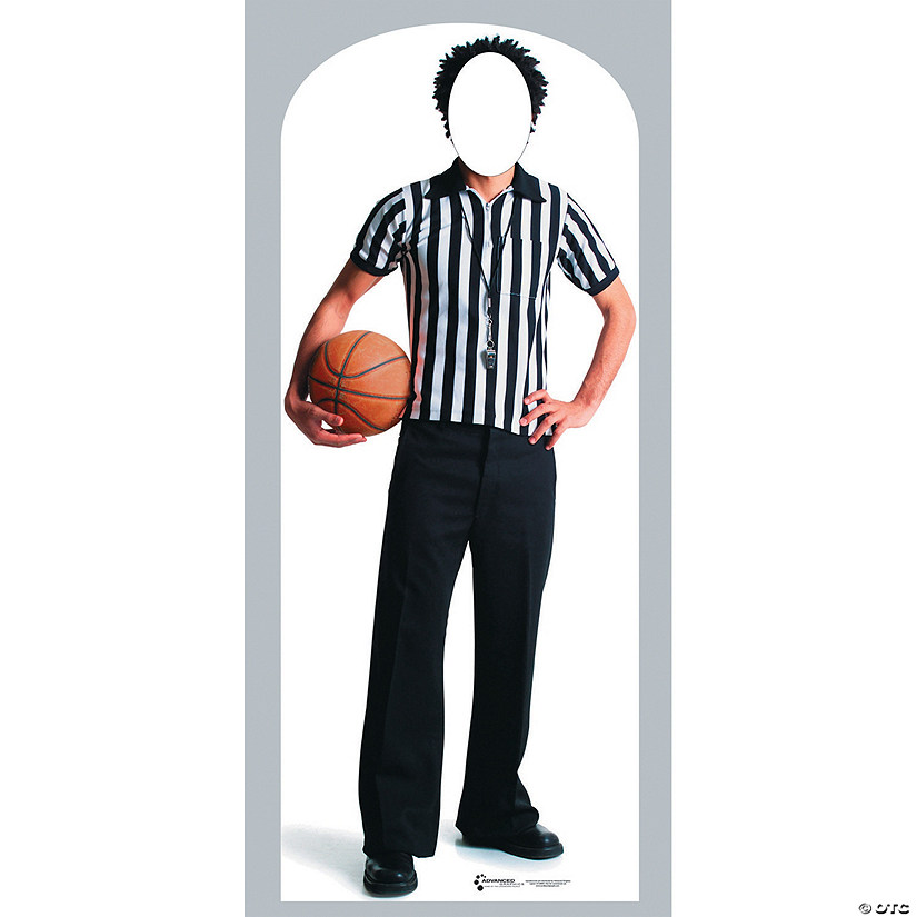 Referee Cardboard Stand-In Stand-Up