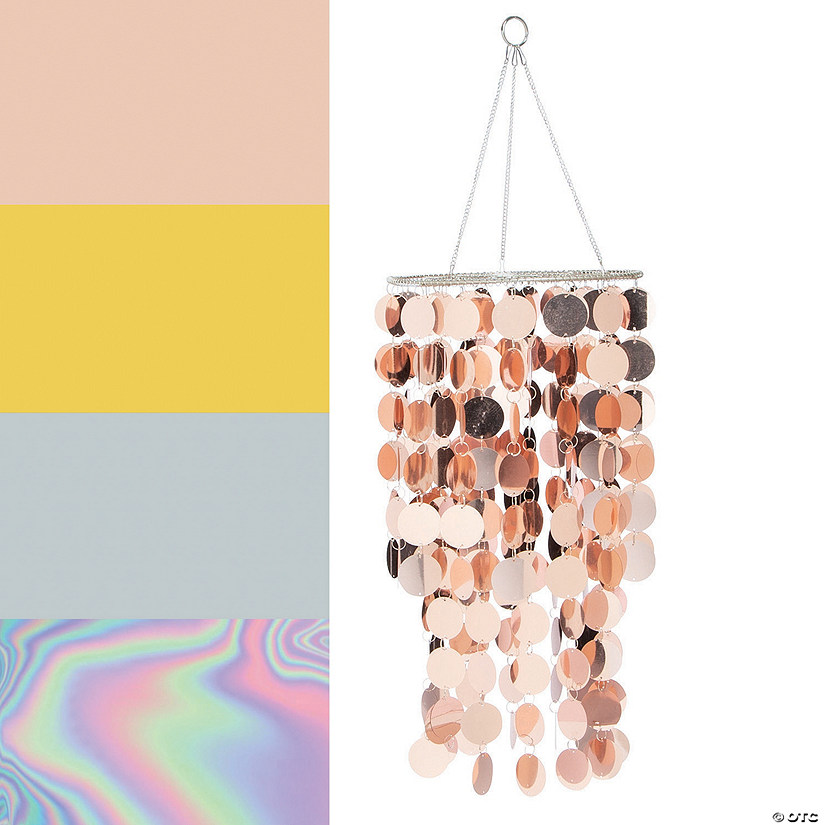 Reflective Hanging Chandelier Image Thumbnail