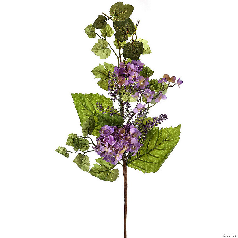 "Regency Int-Hydrangea Berry Spray 32"" - Lavender"