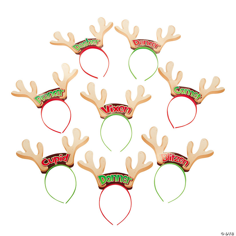 Reindeer Antler Character Headbands Audio Thumbnail