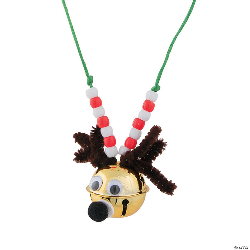 Reindeer Bell Necklace Craft Kit Audio Thumbnail
