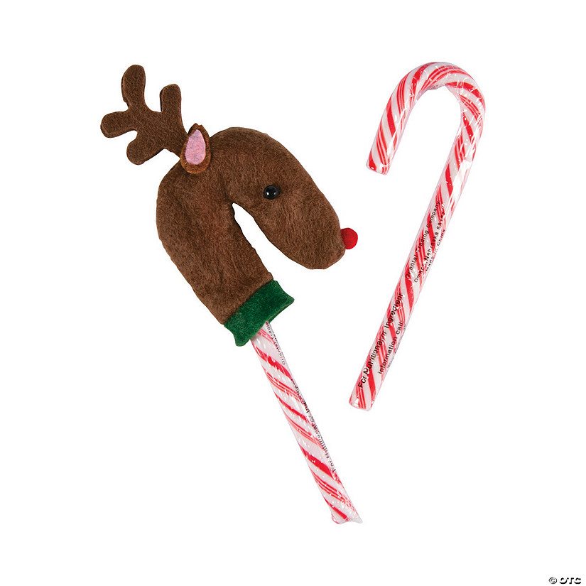 Reindeer Candy Cane Covers Image Thumbnail