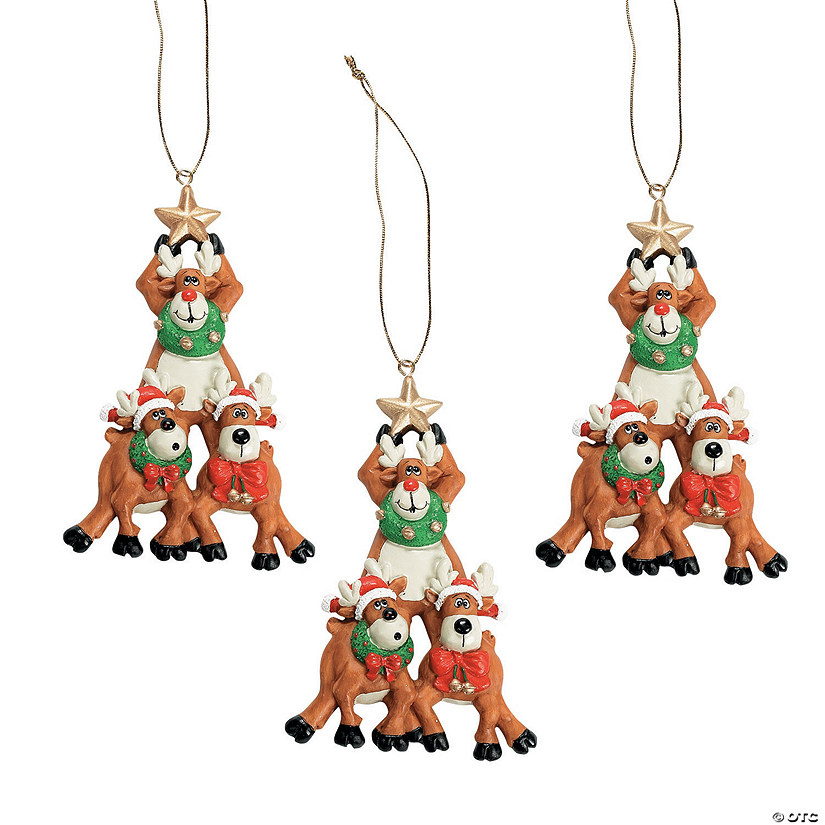 Reindeer Christmas Tree Ornaments Discontinued