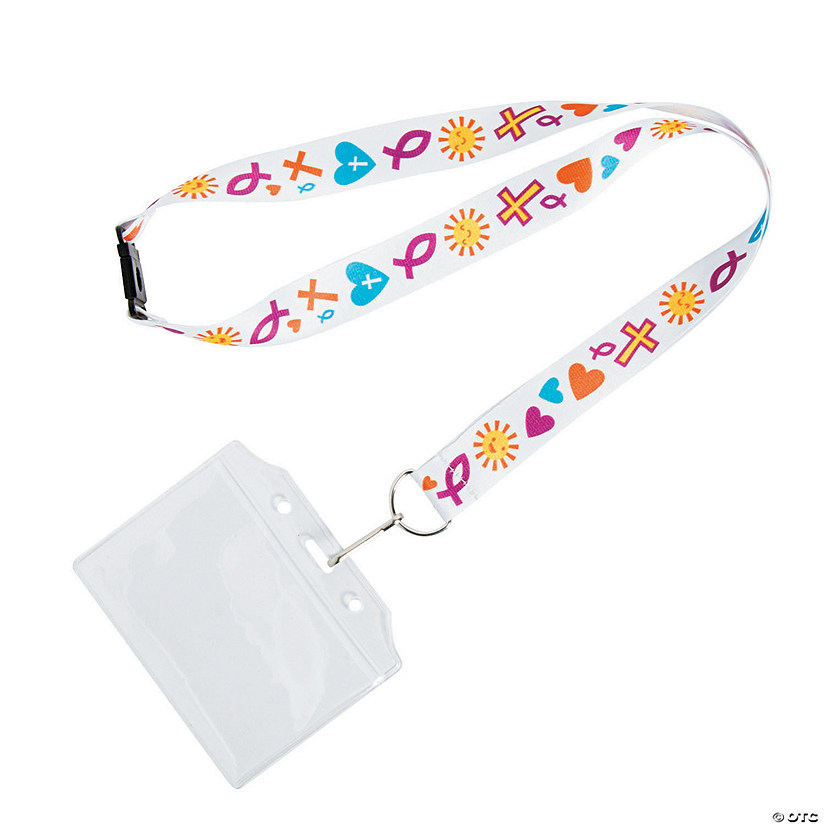 Religious Badge Holder Breakaway Lanyards Image Thumbnail