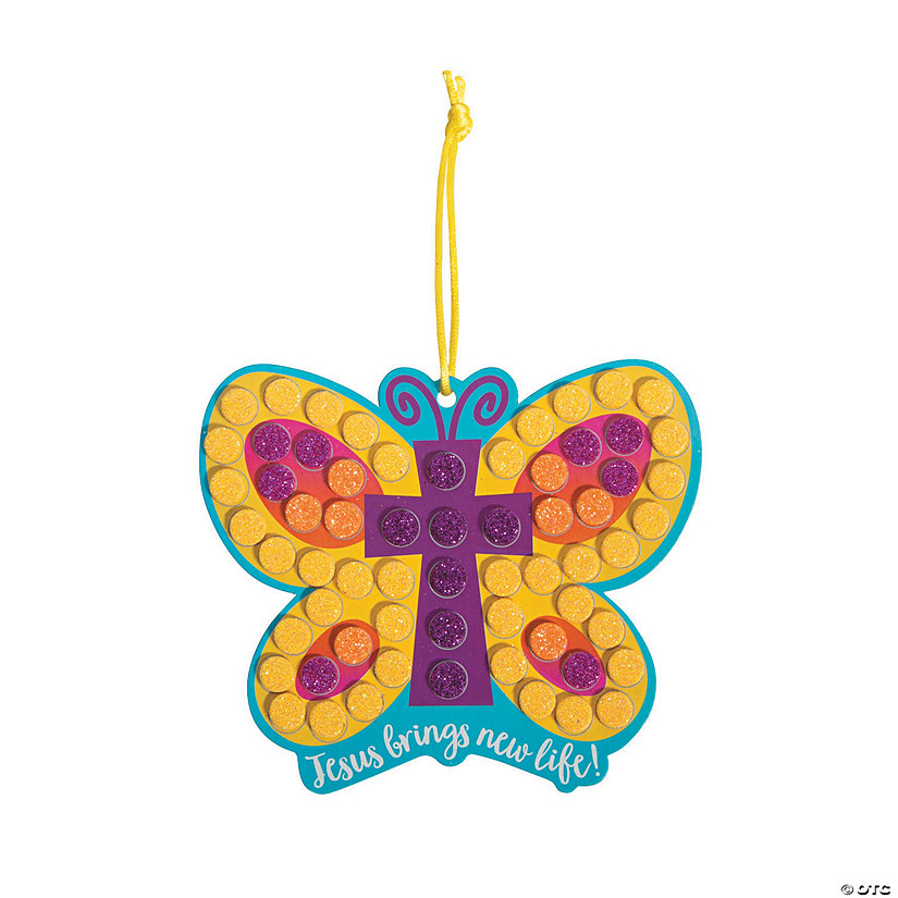 Religious Butterfly Mosaic Craft Kit