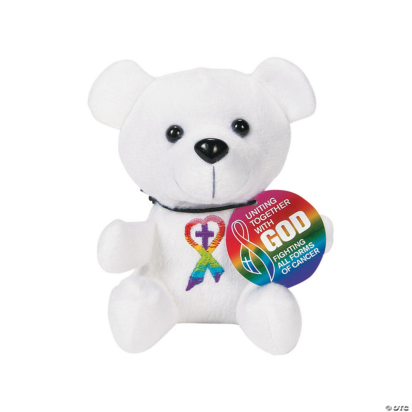 Religious Cancer Awareness Stuffed Bears