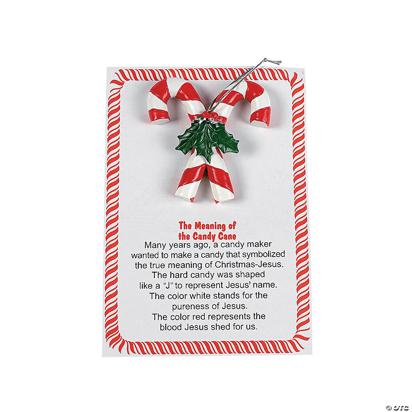religious candy cane ornaments - Hard Candy Christmas Meaning