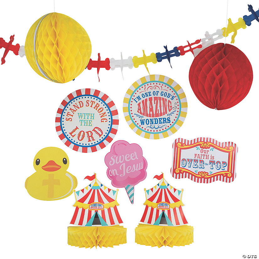 Religious Carnival Decorating Kit Image Thumbnail