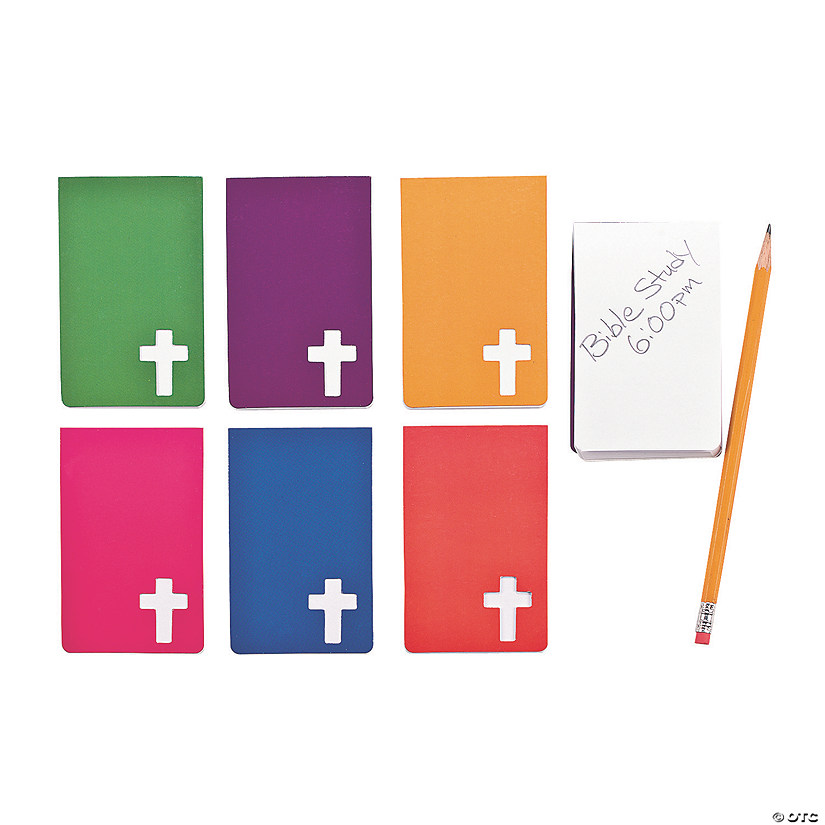 Religious Cross Cutout Notepads Audio Thumbnail