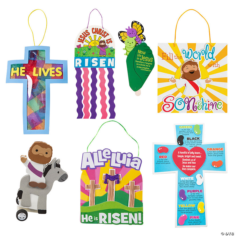 Religious Easter Craft Kit Assortment Image Thumbnail