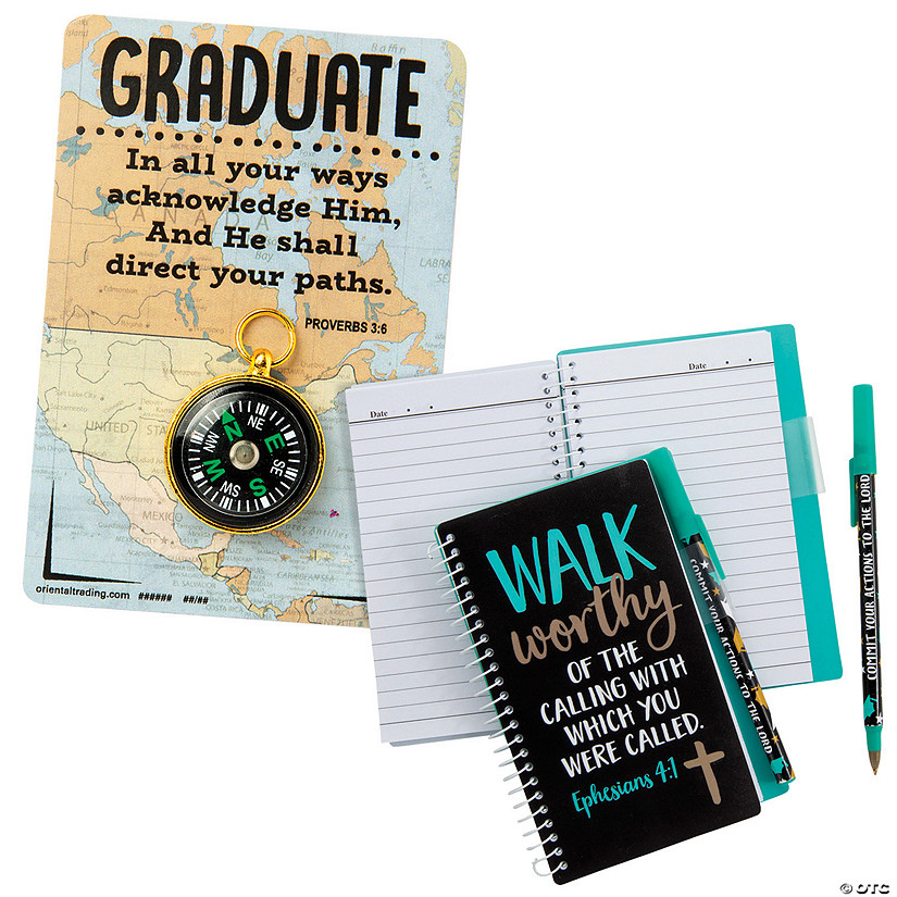 Religious Graduation Group Gifts Set Image Thumbnail