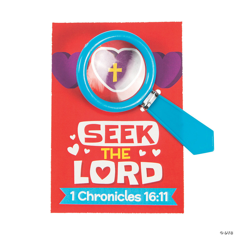 Religious Magnifying Glasses with Valentine's Day Card Audio Thumbnail