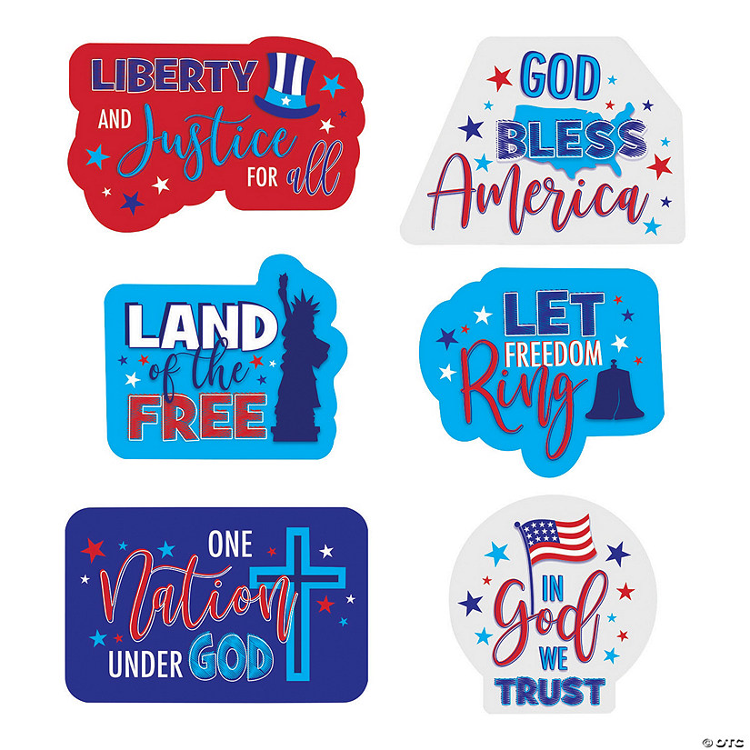 Religious Patriotic Cutouts Audio Thumbnail
