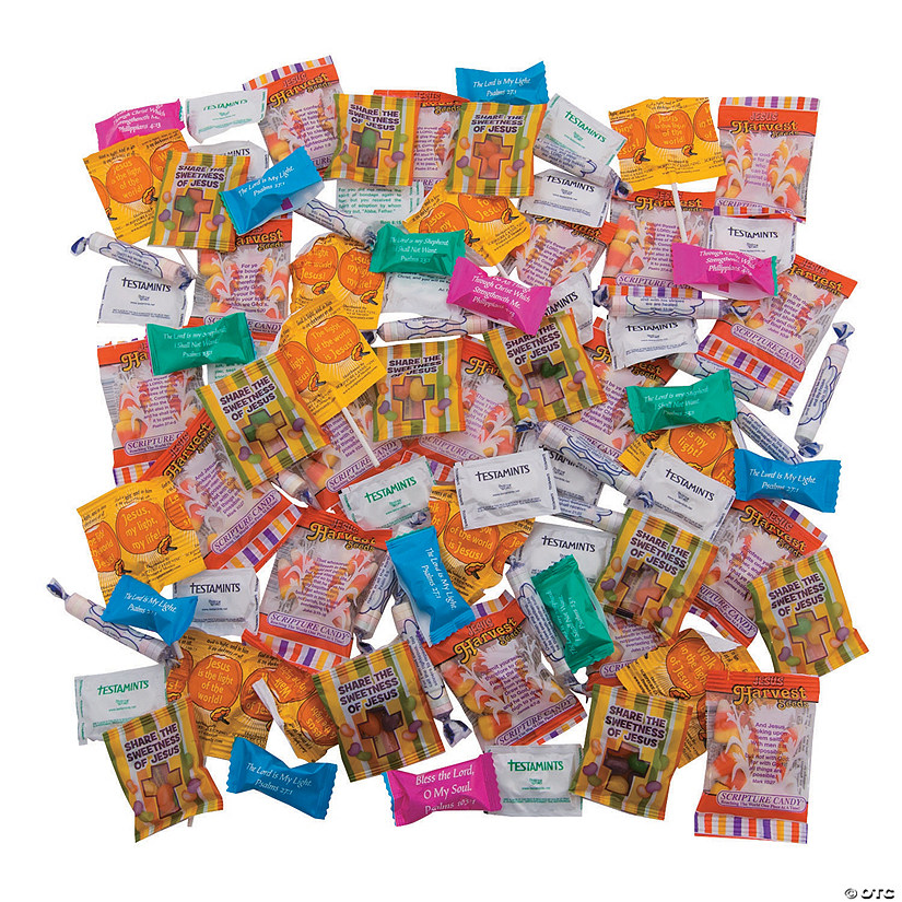 Religious Trick-or-Treat Candy Assortment Image Thumbnail