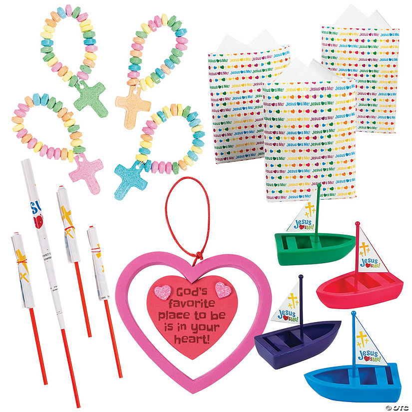 Religious Valentine's Day Handout Kit for 48 Image Thumbnail