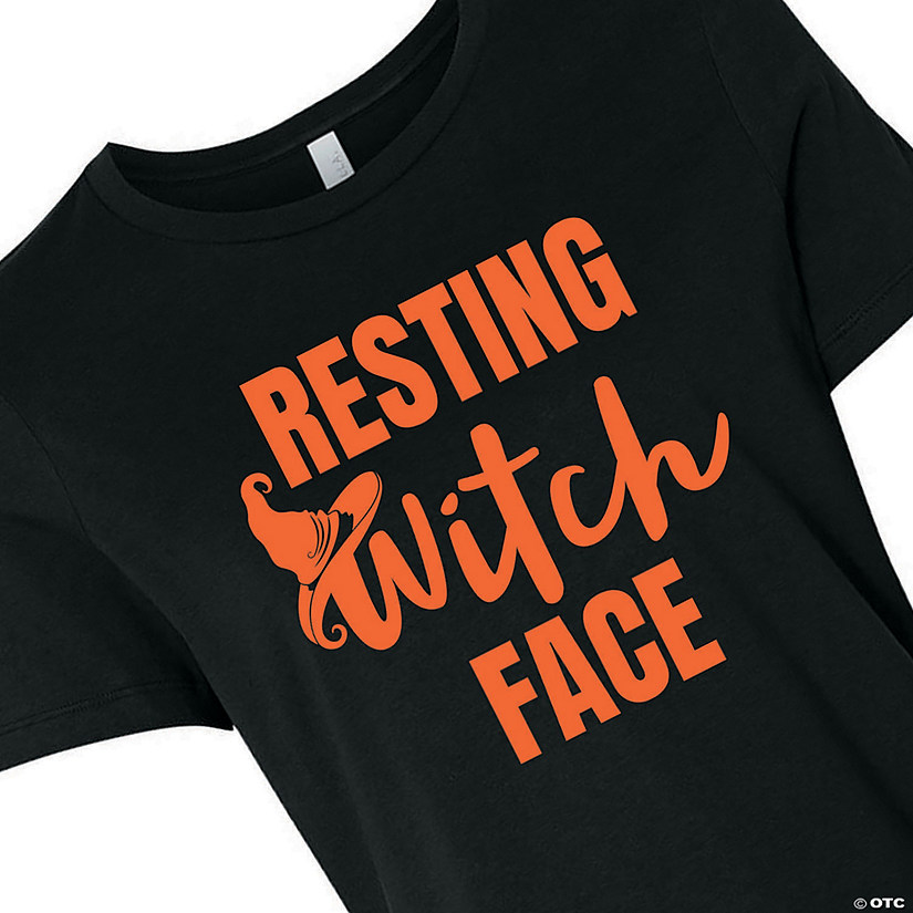 Resting Witch Face Women's T-Shirt Image Thumbnail