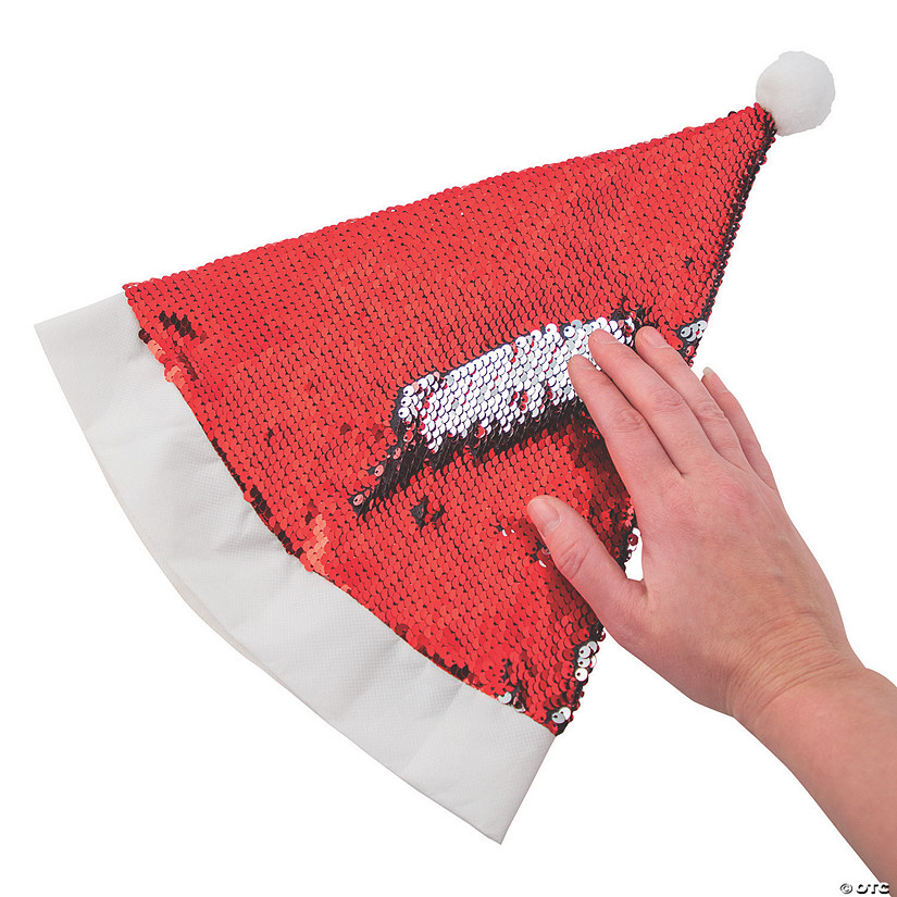 Reversible Sequins Santa Hats Audio Thumbnail