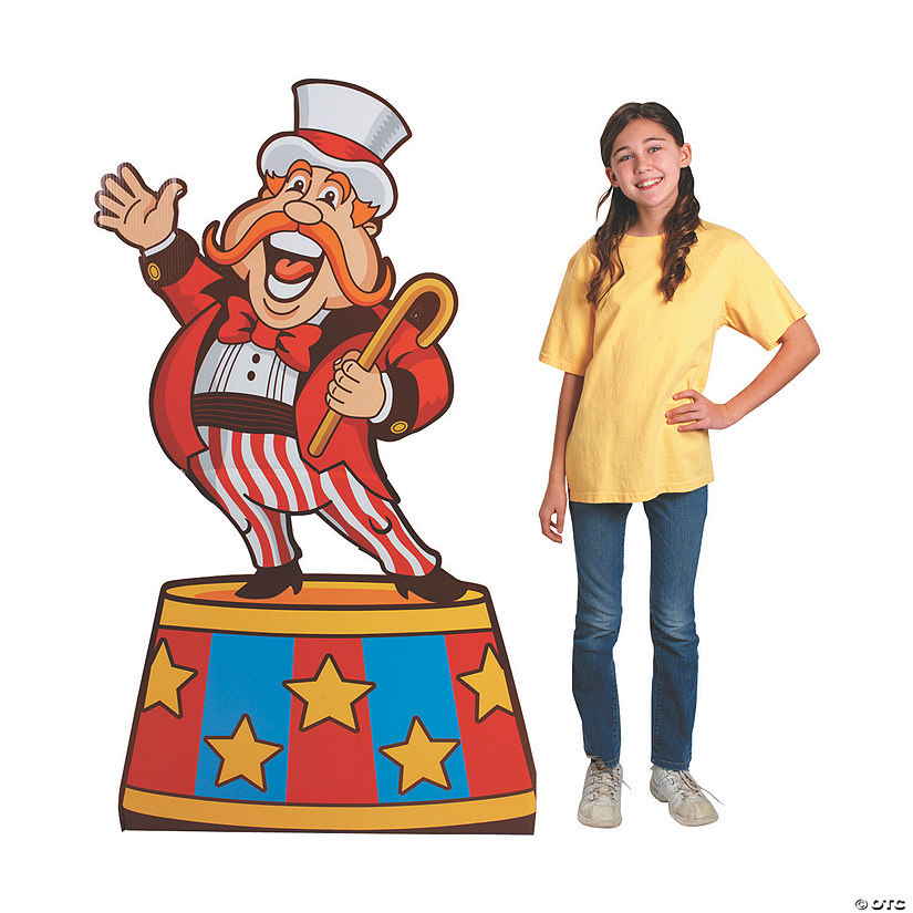 Ringmaster Cardboard Stand-Up Audio Thumbnail