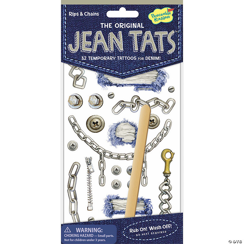 Rips & Chains Jean Tats Pack Image Thumbnail
