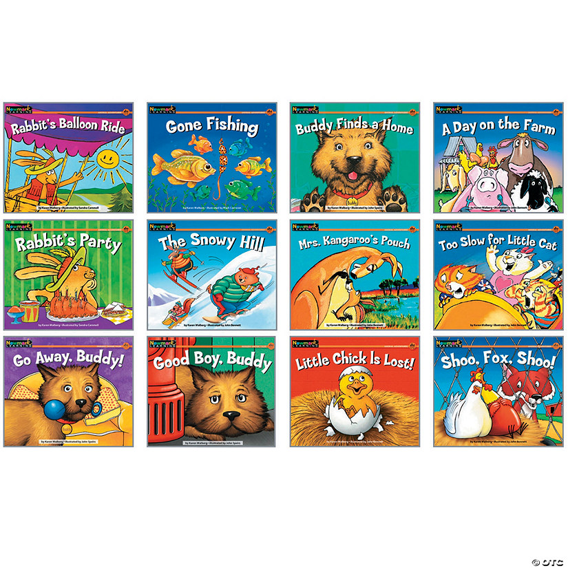 Rising Readers Leveled Book, Fiction Set, Set of 12