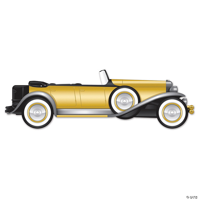 Roaring 20s Jointed Roadster Car Sign Audio Thumbnail