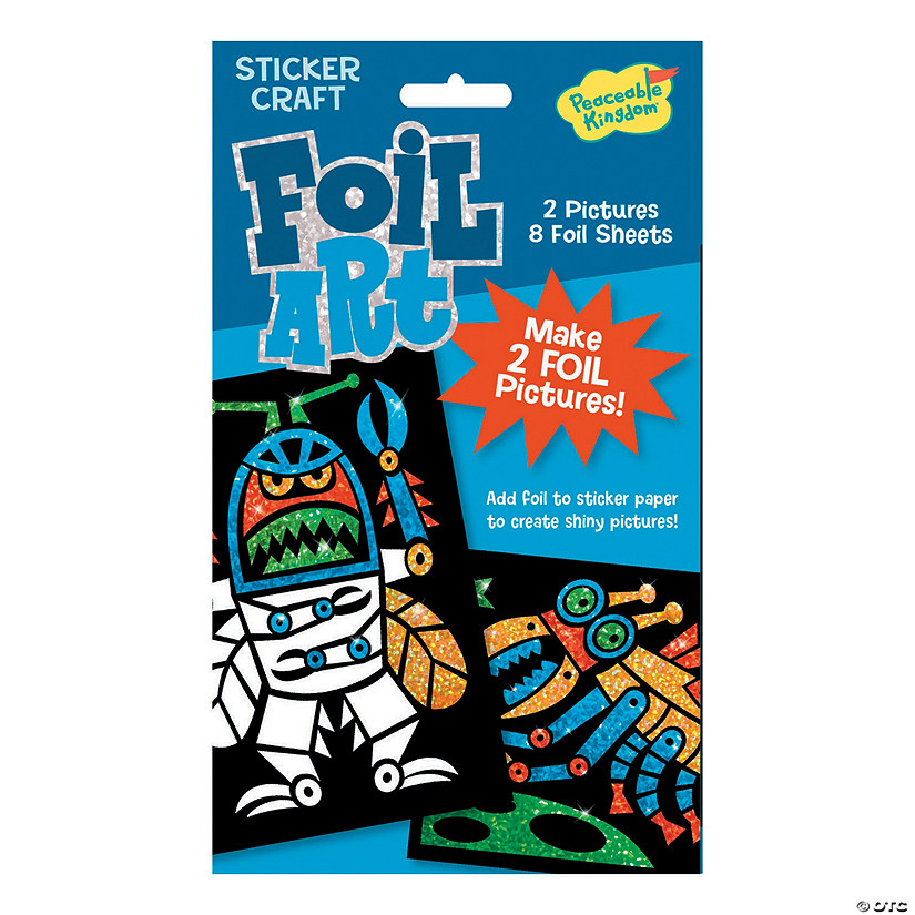 Robot Bugs Foil Art Sticker Pack Audio Thumbnail